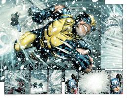 FCBD Avengers p.6-7 by JohnRauch
