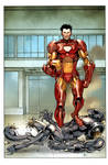 Iron Man green screen