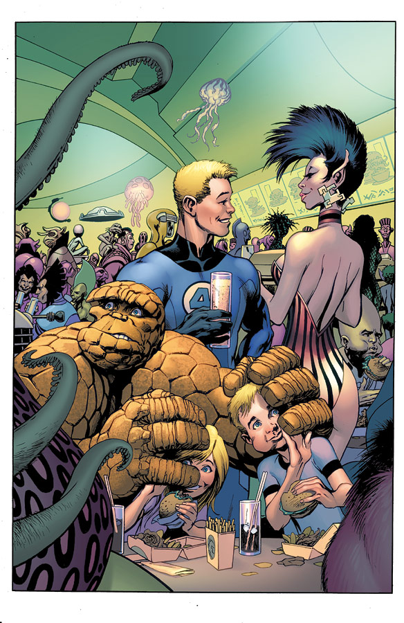 Fantastic Four 573 by JohnRauch