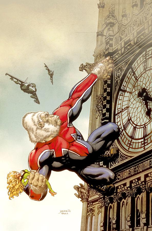 Captain Britain variant