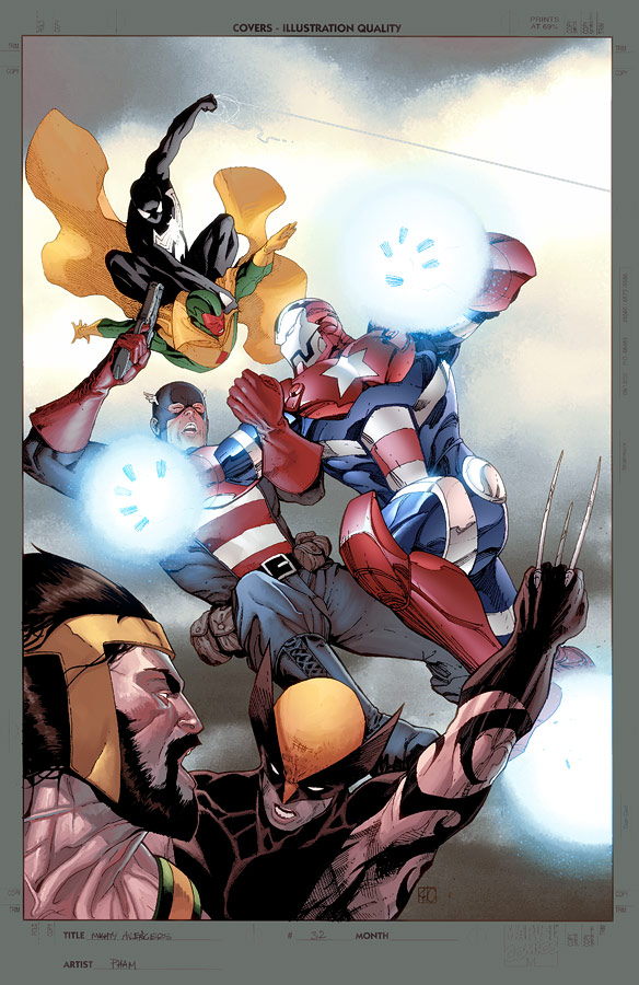Mighty Avengers 32