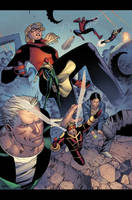 Mighty Avengers 36 p22 by JohnRauch