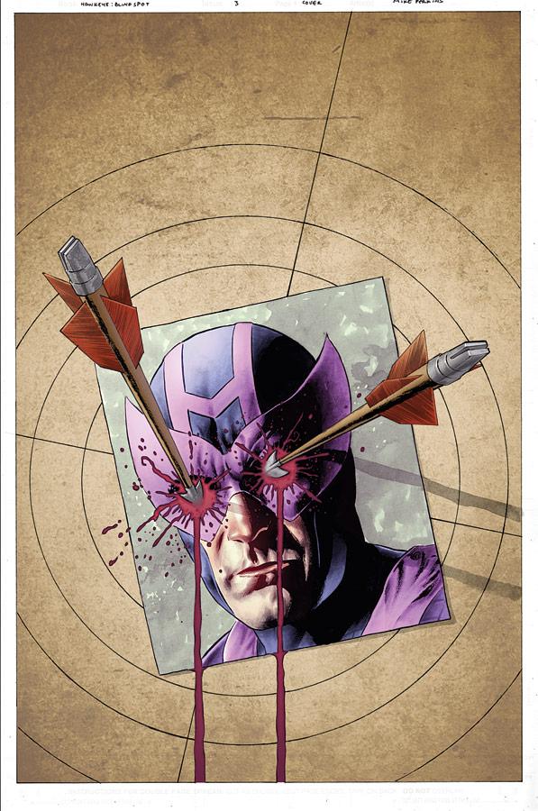 Hawkeye 3 Cover by JohnRauch