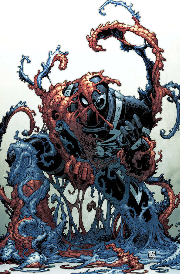 Venom 6 cover by JohnRauch