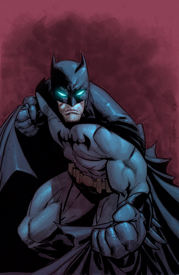 Wya's Batman by JohnRauch
