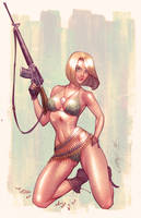 Danger Girl Revolver alt. cover