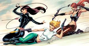 Danger Girl Revolver 2-3-4 covers