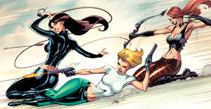 Danger Girl Revolver 2-3-4 covers