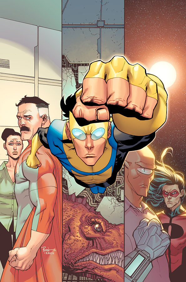 Invincible TPB 16 cover by JohnRauch