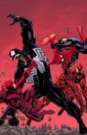 Venom vs.DD Carnage vs.Spidey