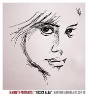 Jessica Alba 5 Minute Portrait by karthik82