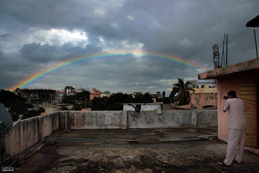 Photographing a Rainbow by karthik82