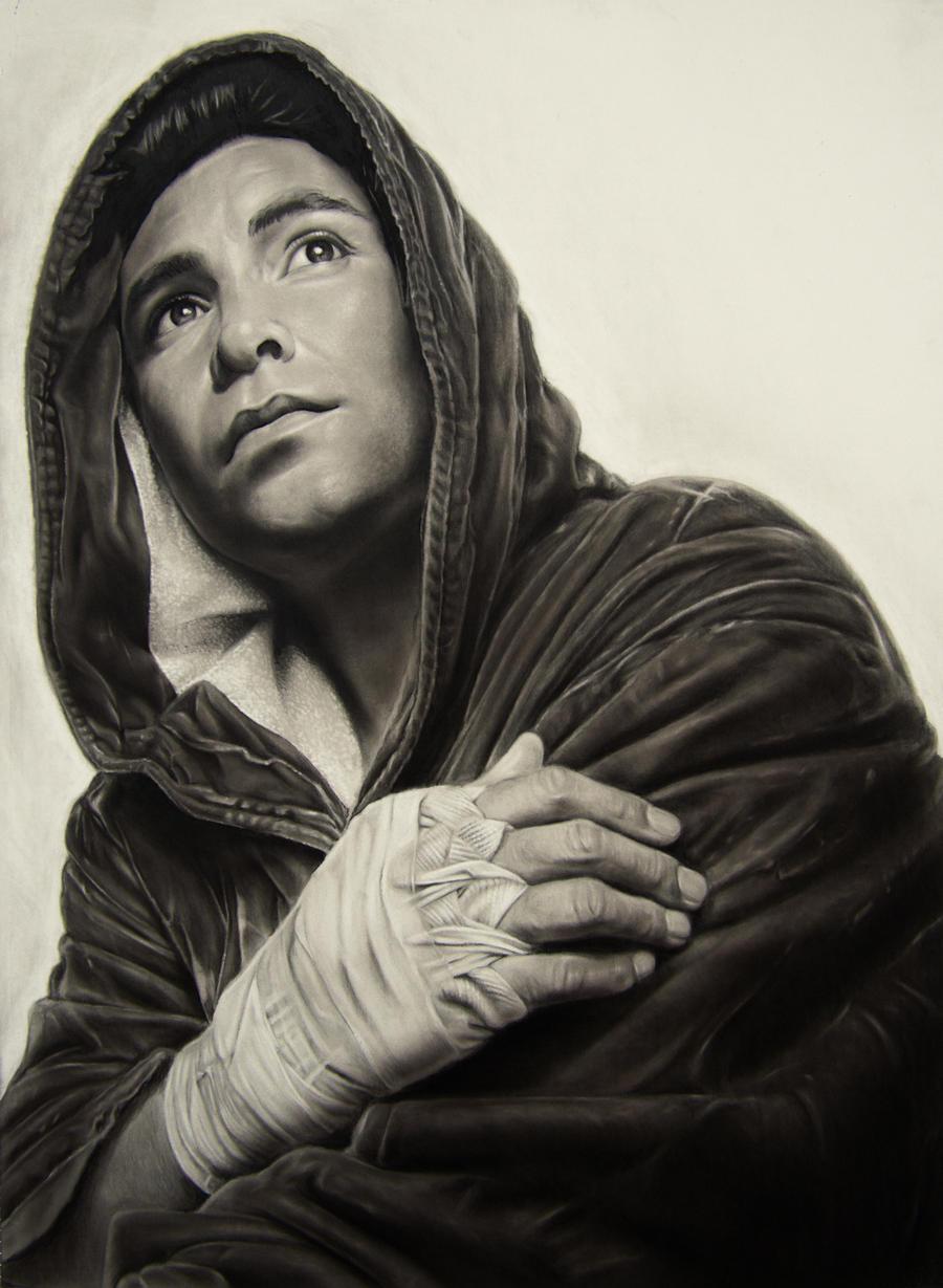 Oscar De La Hoya by rdhotartist