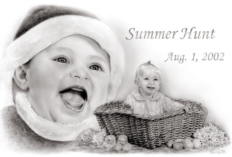 My Niece Summer by rdhotartist