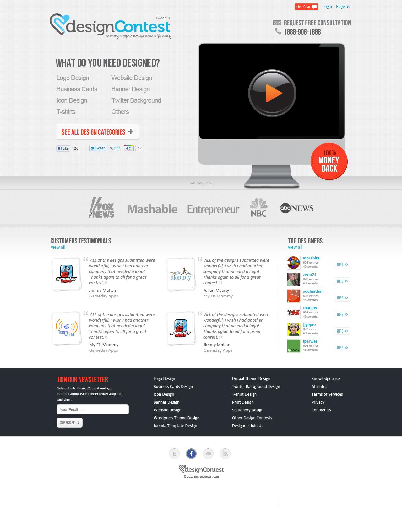 DesignContest,com, prototype.