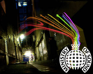 Ministry Of Sound Wallpaper by LavnebDesigns