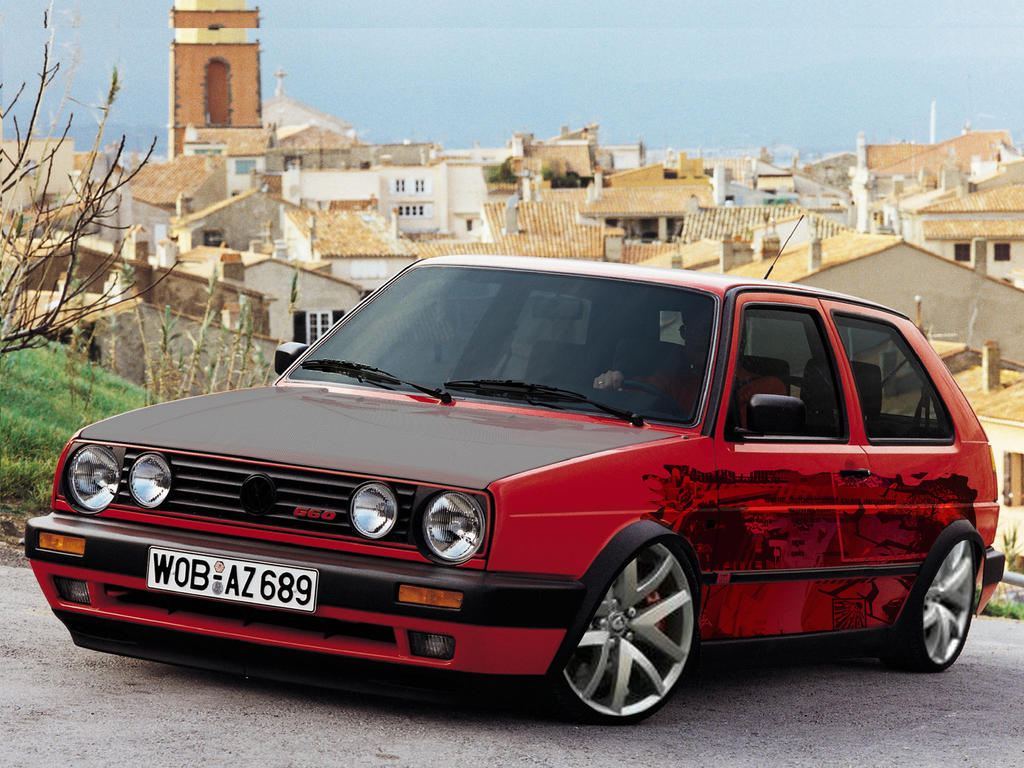 volkswagen golf ii gti by lavnebdesigns on deviantart. Black Bedroom Furniture Sets. Home Design Ideas