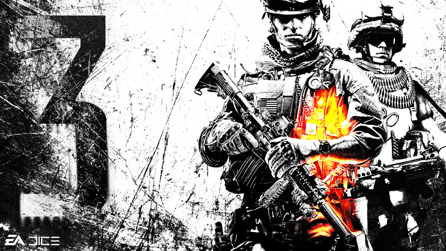 Battlefield 3 hd wallpaper by ghost522 on deviantart battlefield 3 hd wallpaper by ghost522 voltagebd Images