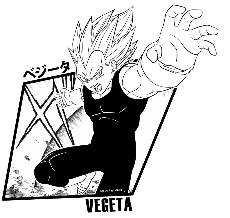 how to draw dbz manga style