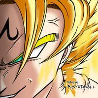 Makai Son Gokuu -coloreado- by Rayodball
