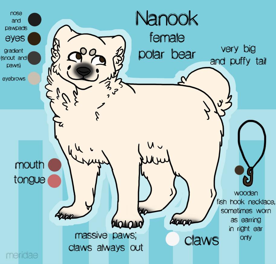 :.Nanook.Reference.Sheet.: by meridae