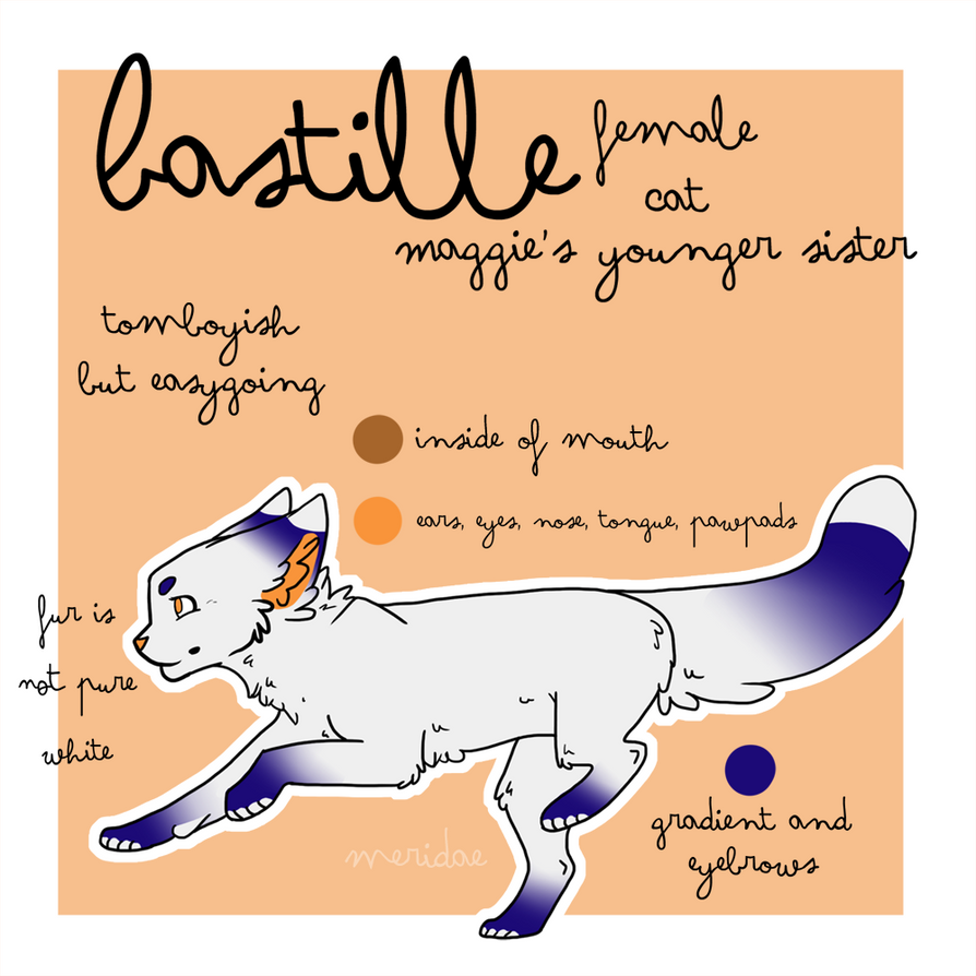 :.Bastille.Reference.Sheet.: by meridae