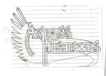 Logo Across the Highlands by V-de-Vatapa