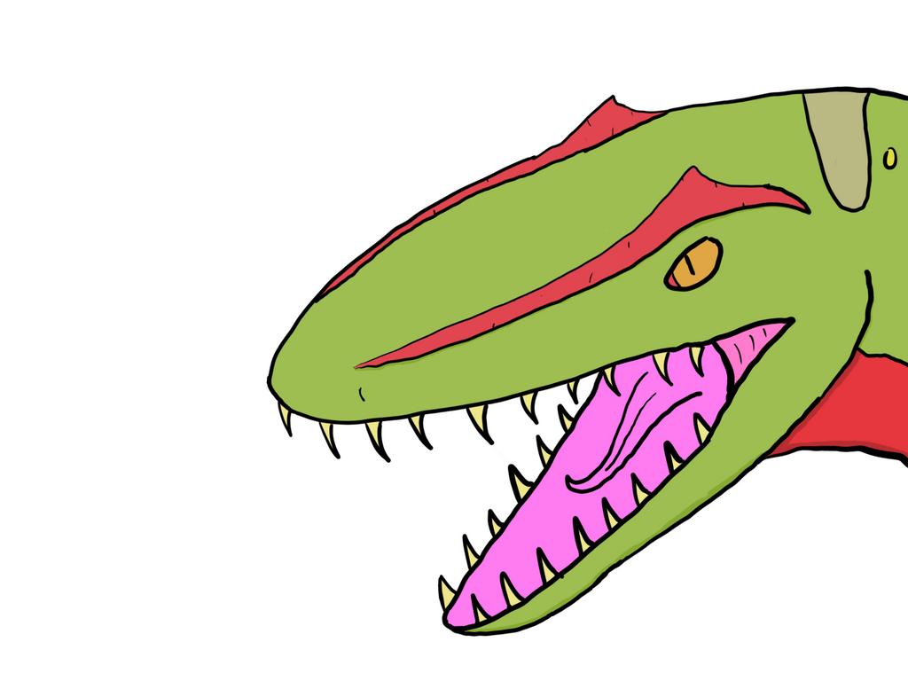 Charcharodontosaurus by MrBuscheese