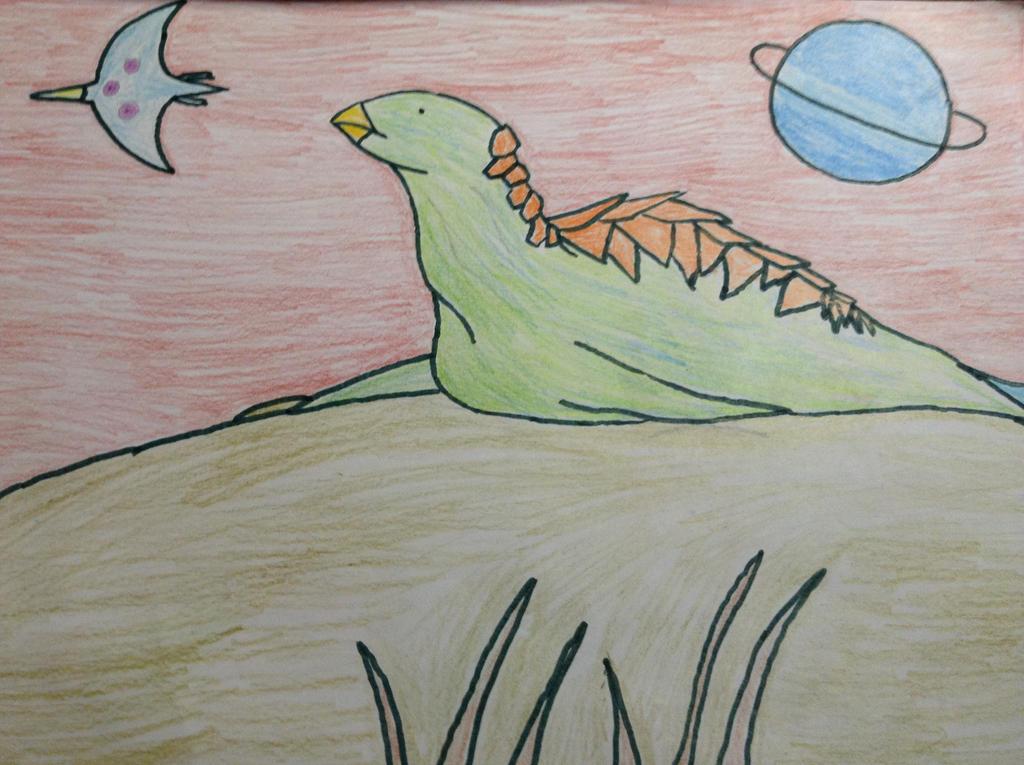 Alien Turtle by MrBuscheese