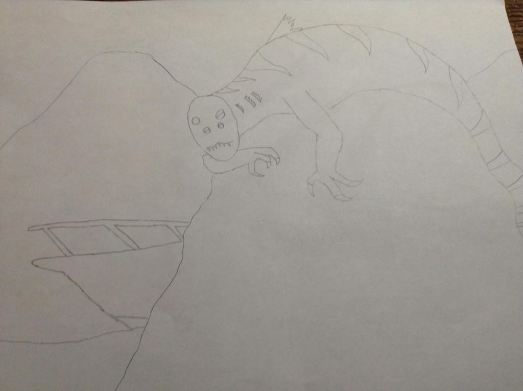 Alien Mermaid WIP by MrBuscheese