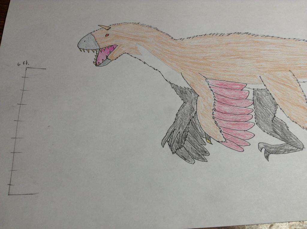 Majungaraptor by MrBuscheese