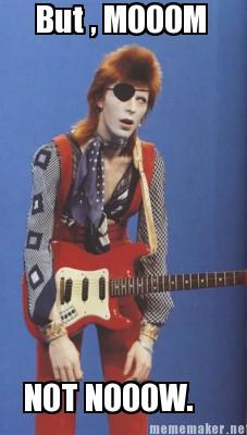 David Bowie's mom by ladylillius