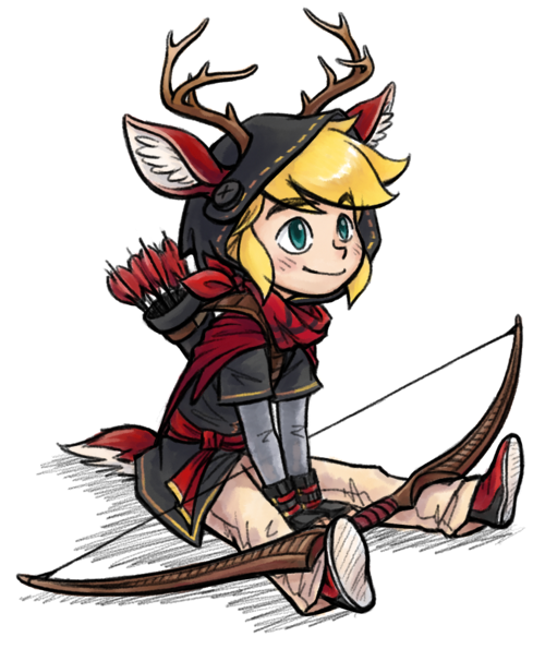 Deer Child by Makyui