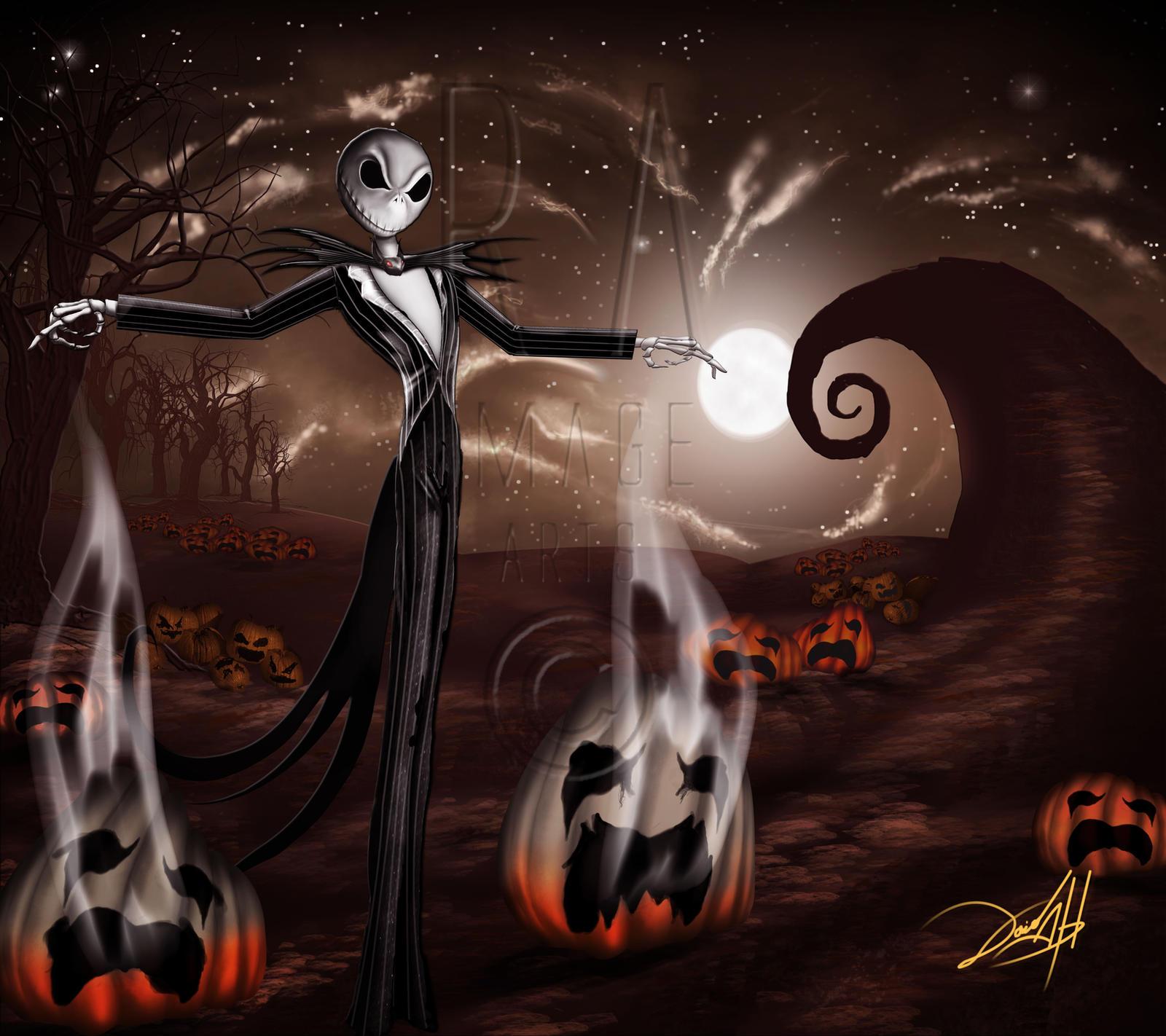 jack skellington halloween wallpaper - photo #10