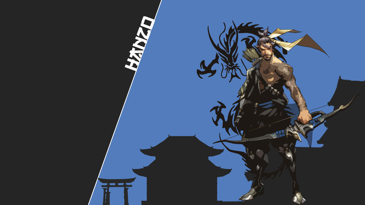 hanzo wallpaperceruleanslate on deviantart