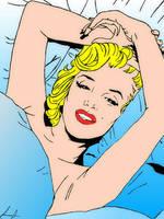 Marilyn Monroe by AsphodelGray