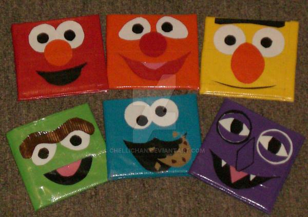 Duct Tape - Sesame Street