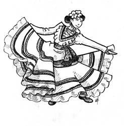 Flamenco Dancing by ACGalaga