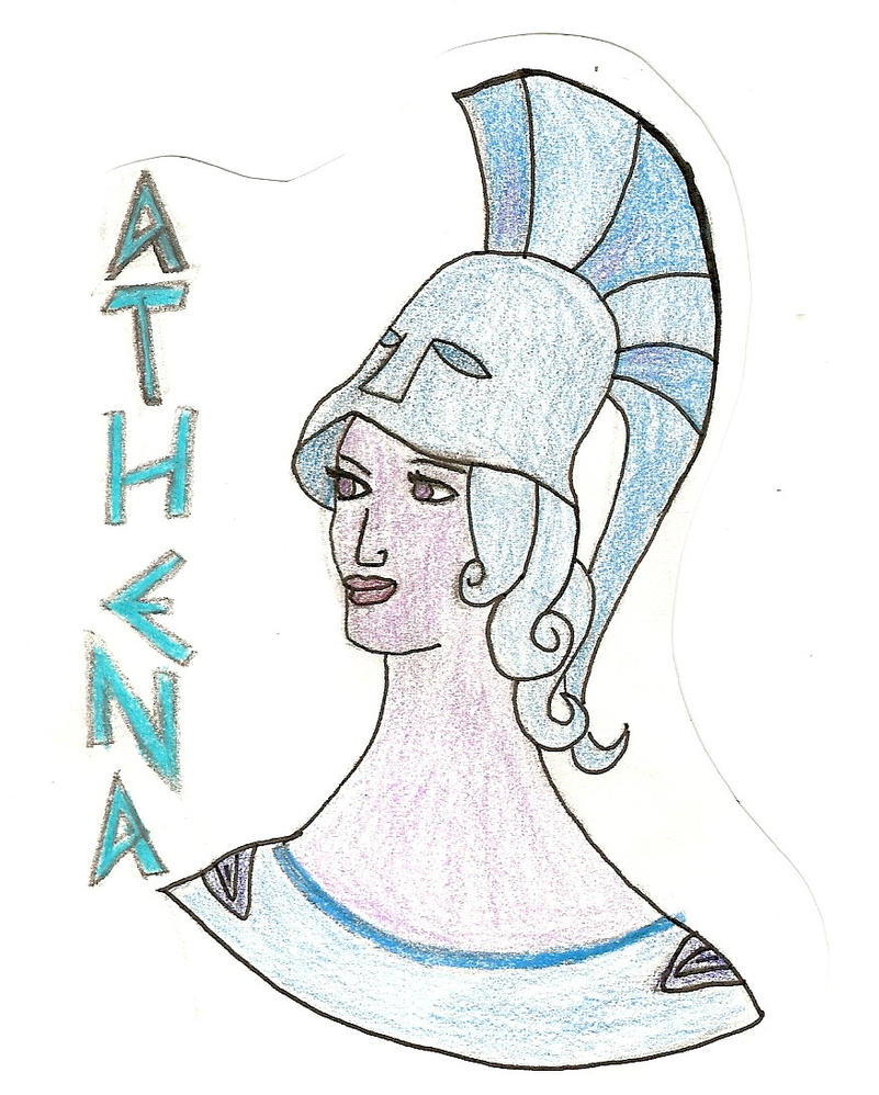 Athena by InsaneKittyKat