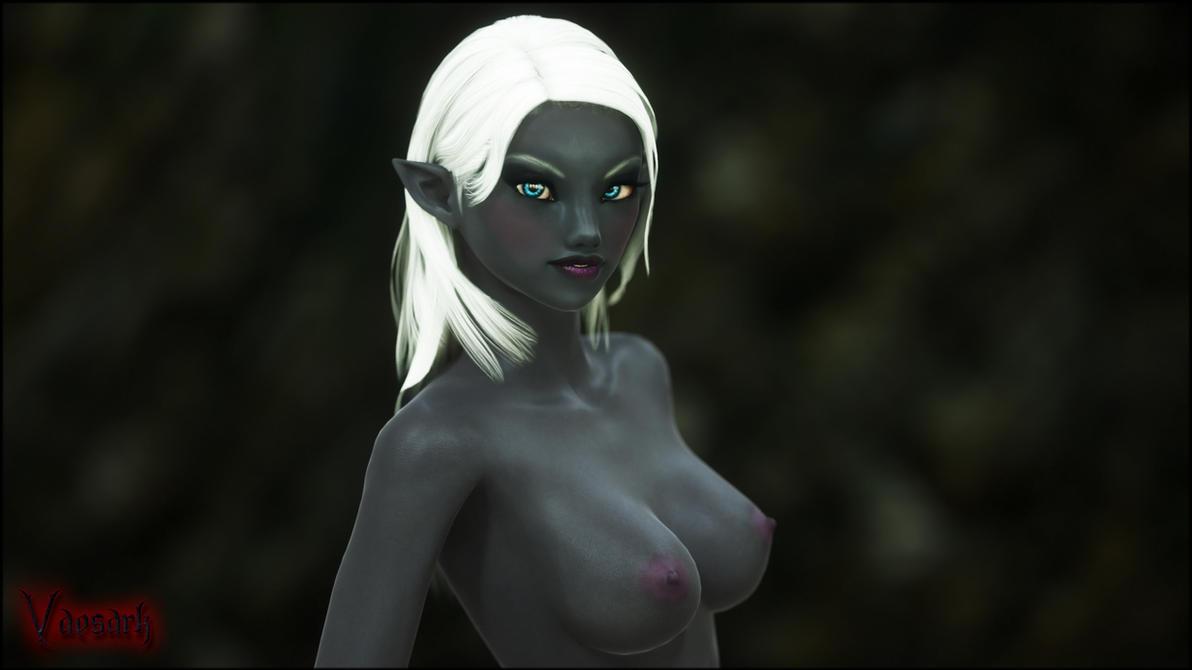 Priestess of Lolth by Vaesark