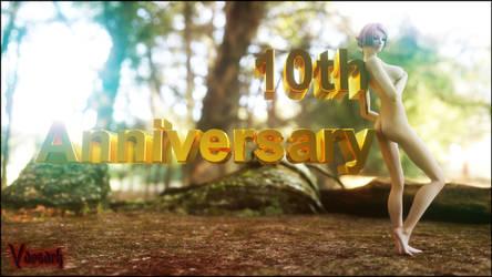 10th Anniversary by Vaesark