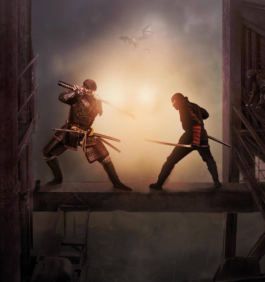 Ninjas by aweldeng