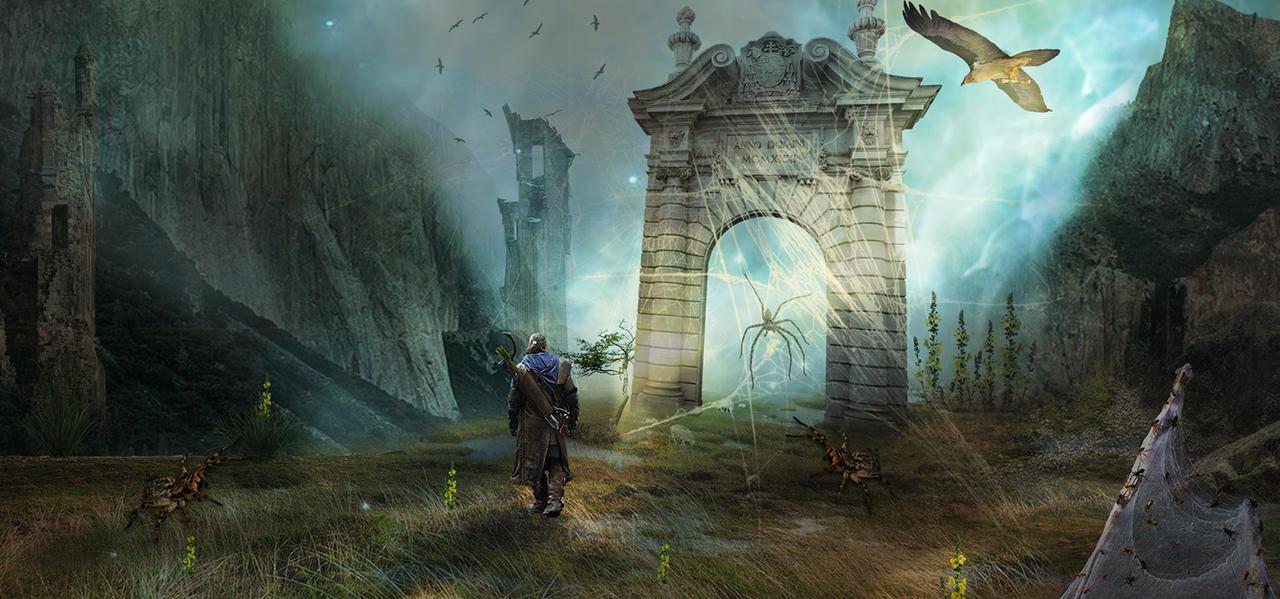 The forgotten gate by aweldeng