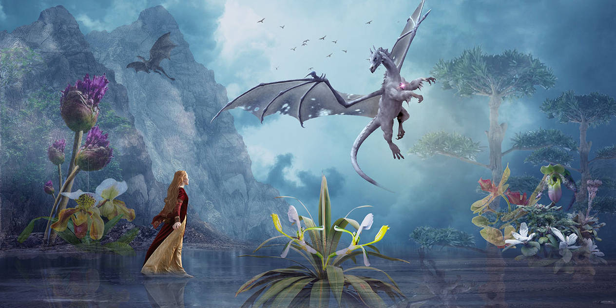 Dragon Land by aweldeng