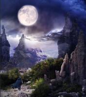 Full Moon by aweldeng