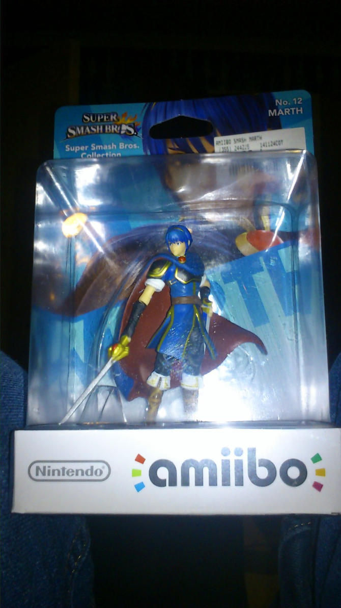 First Amiibo by thepontusandersson
