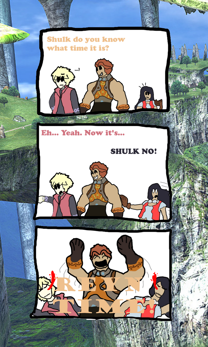 Shulk do you know what time it is by thepontusandersson