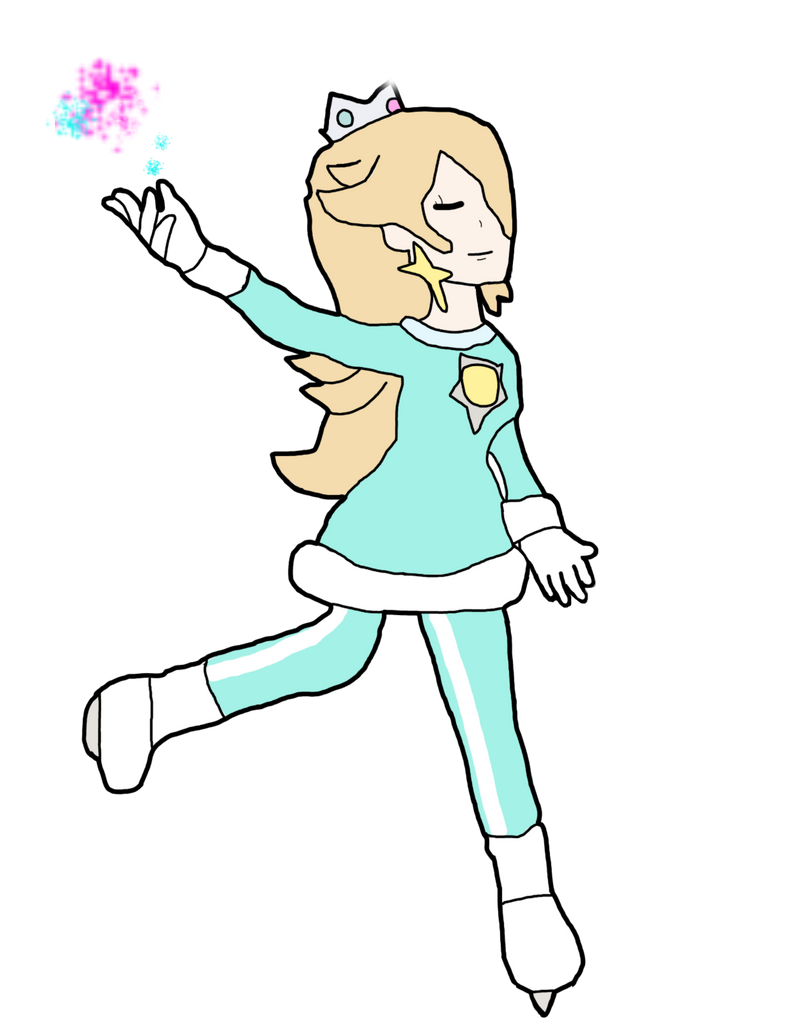 Rosalina (Mario and sonic olympic games style) by thepontusandersson
