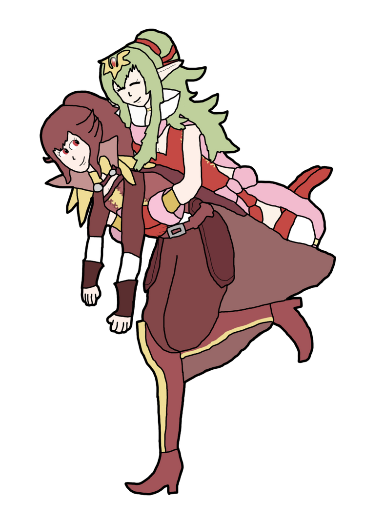 Anna And Tiki by thepontusandersson