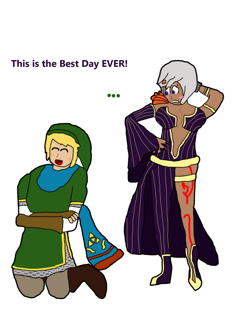 Link and Cia Body Swap by thepontusandersson